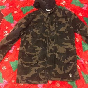 RSQ Jackets & Coats - RSQ camouflage jean jacket
